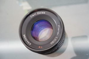 zeiss 50mm vintage lens